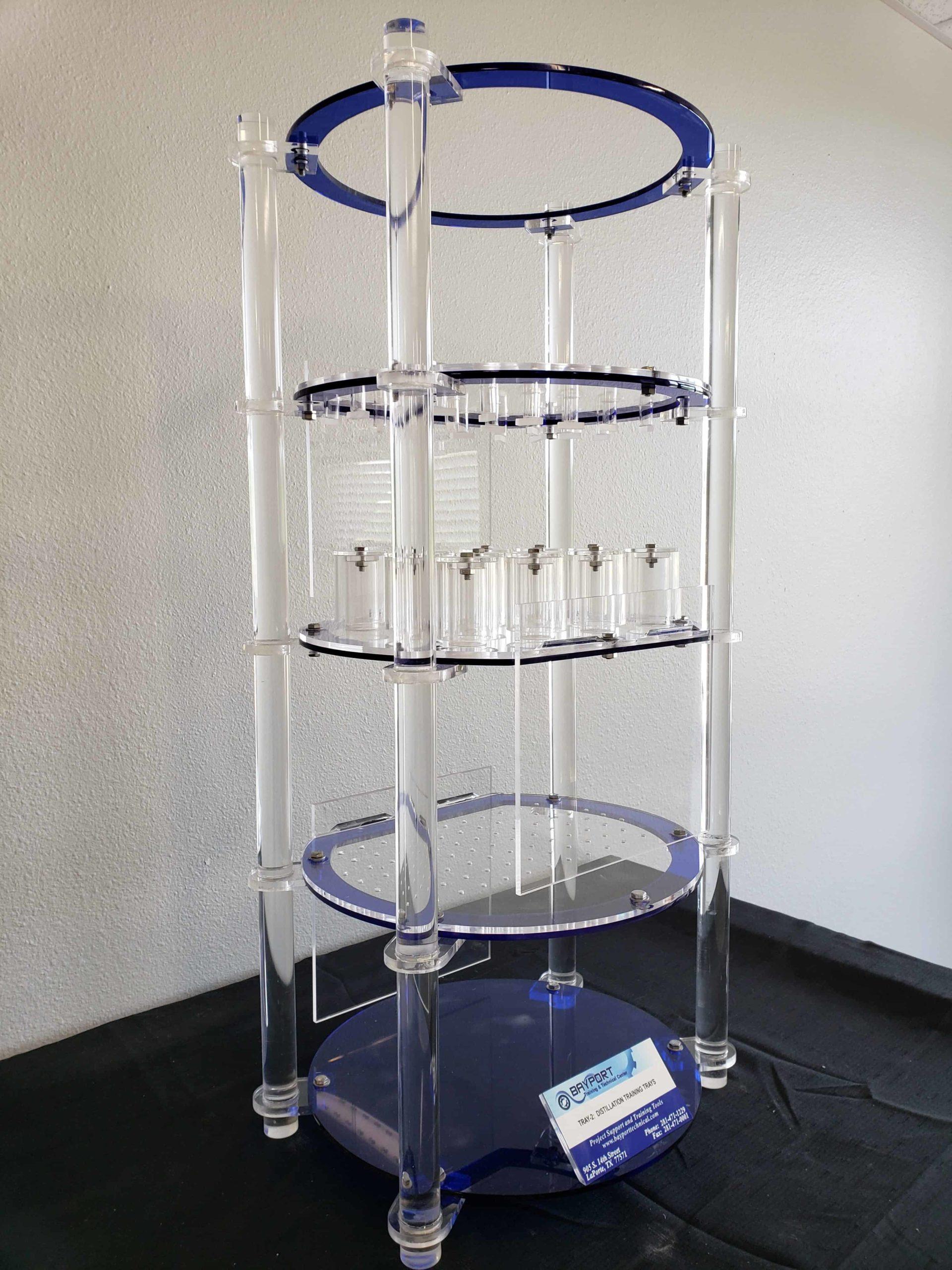 Bayport Technical   Distillation Trays Model - Acrylic