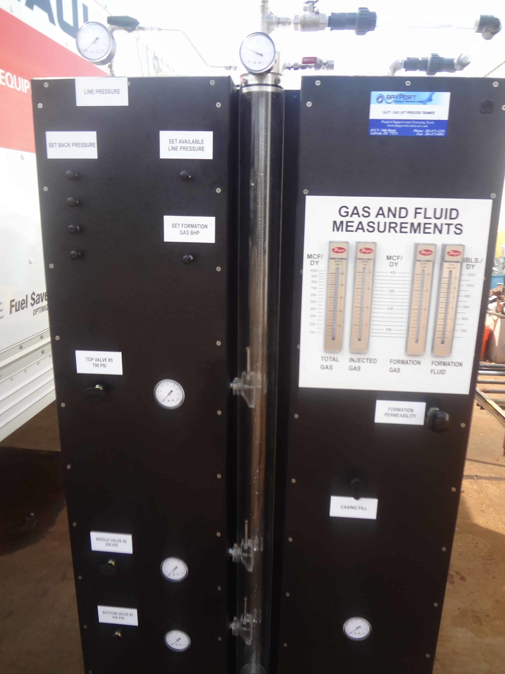 Bayport Technical | Gas Lift Process Trainer