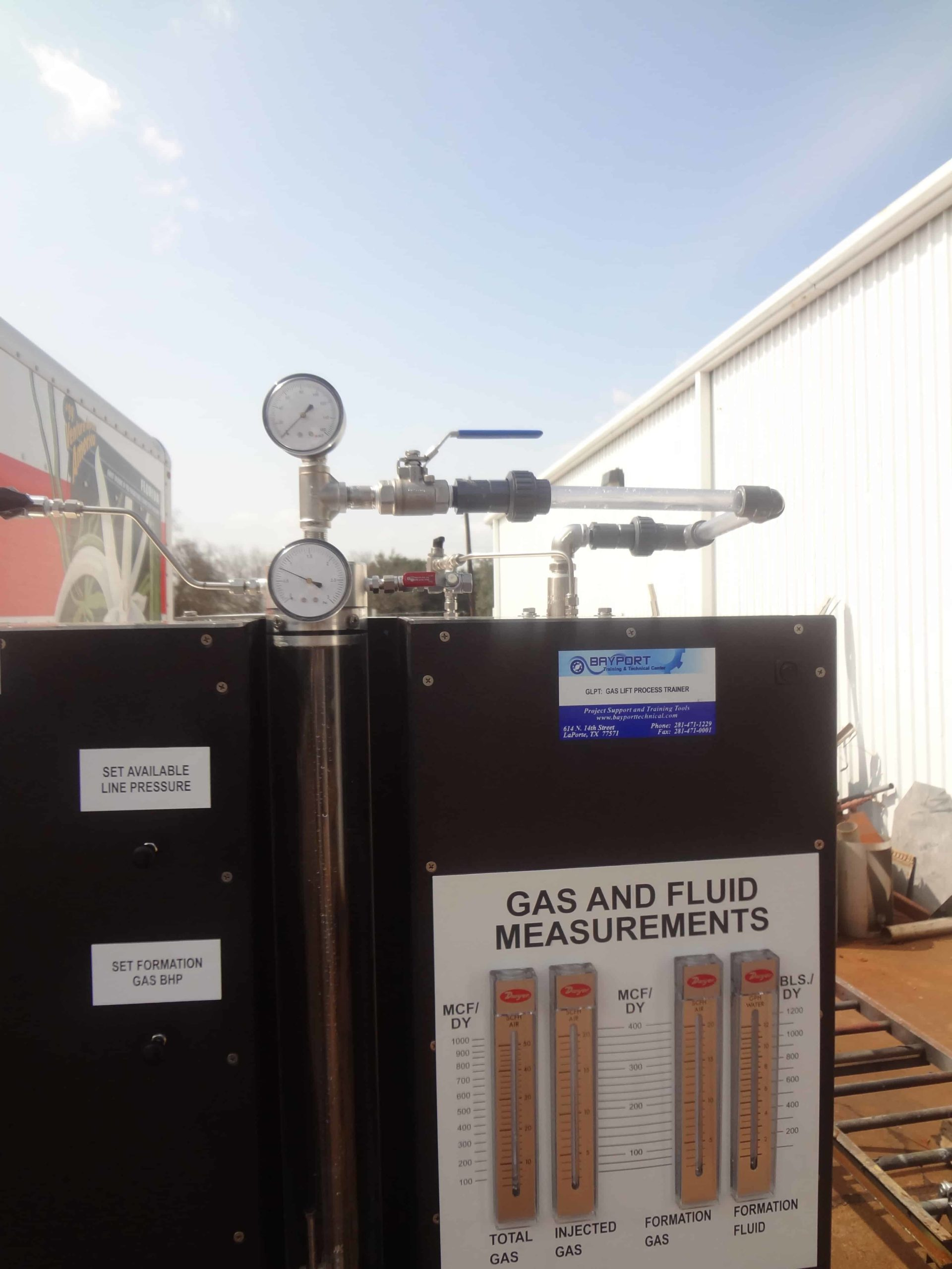Bayport Technical | 140-GLPT Gas Lift Process Trainer 8