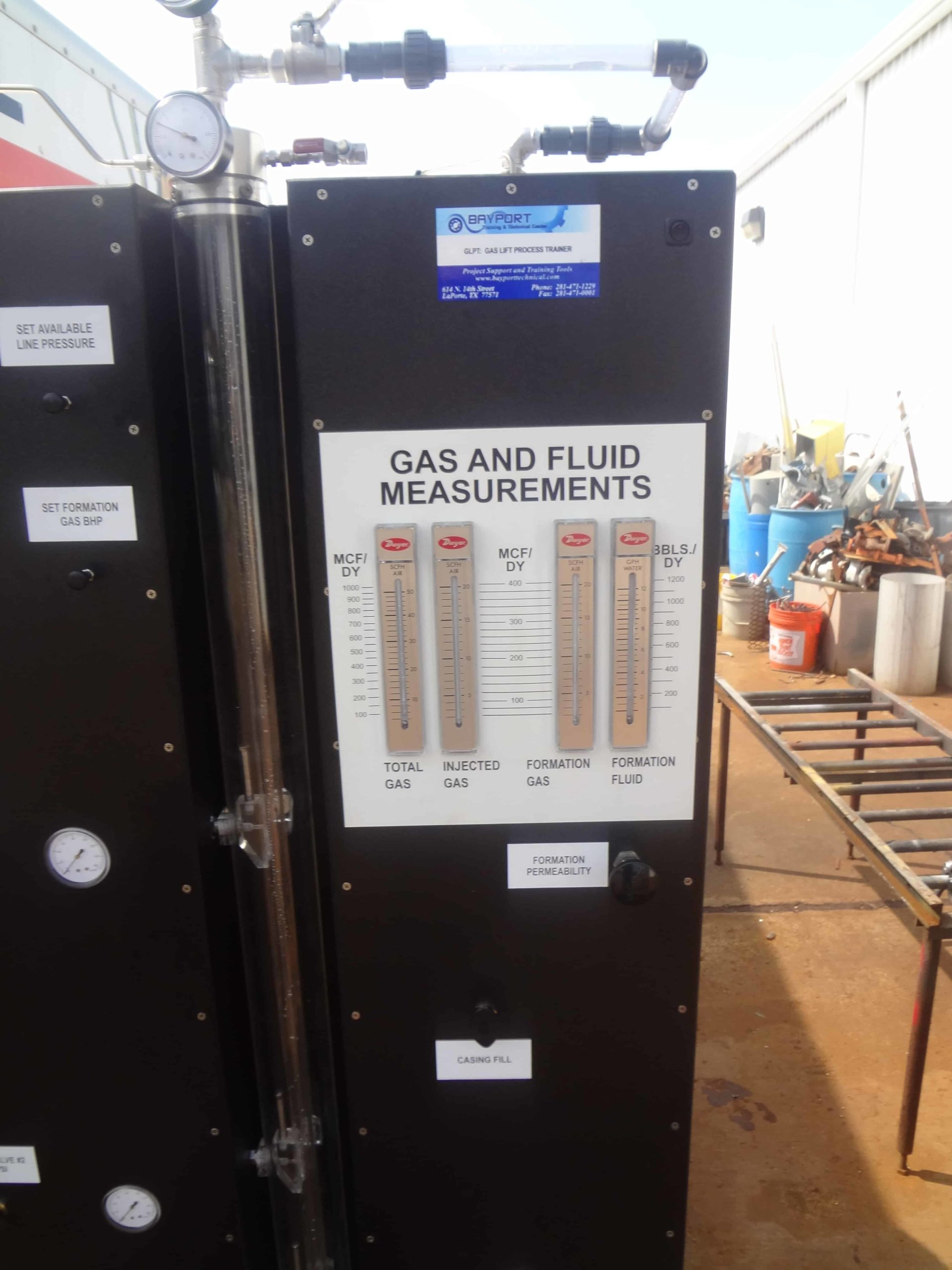 Bayport Technical | 140-GLPT Gas Lift Process Trainer 9