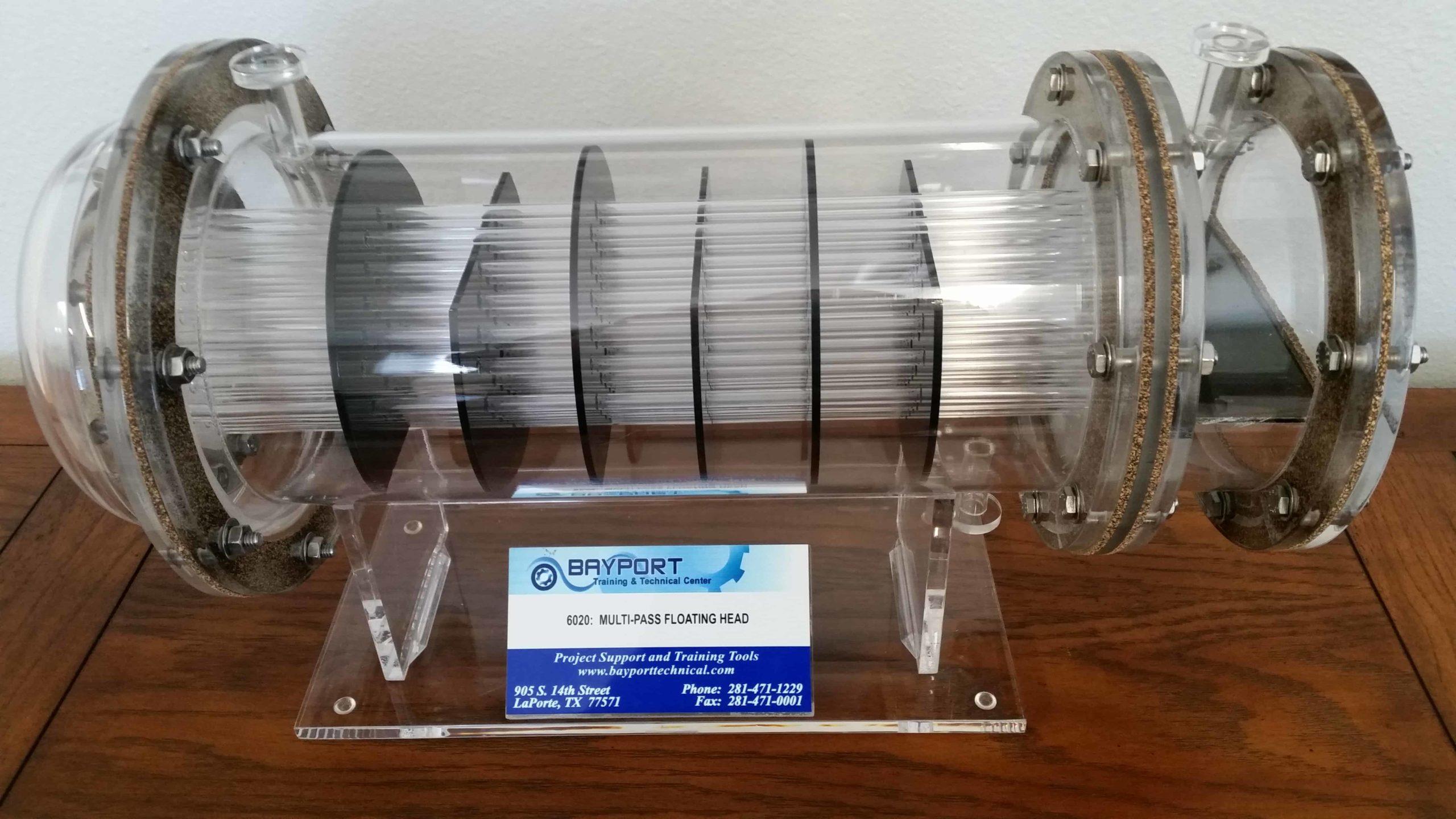 Bayport Technical | Multi-Pass Floating Head Model - Acrylic