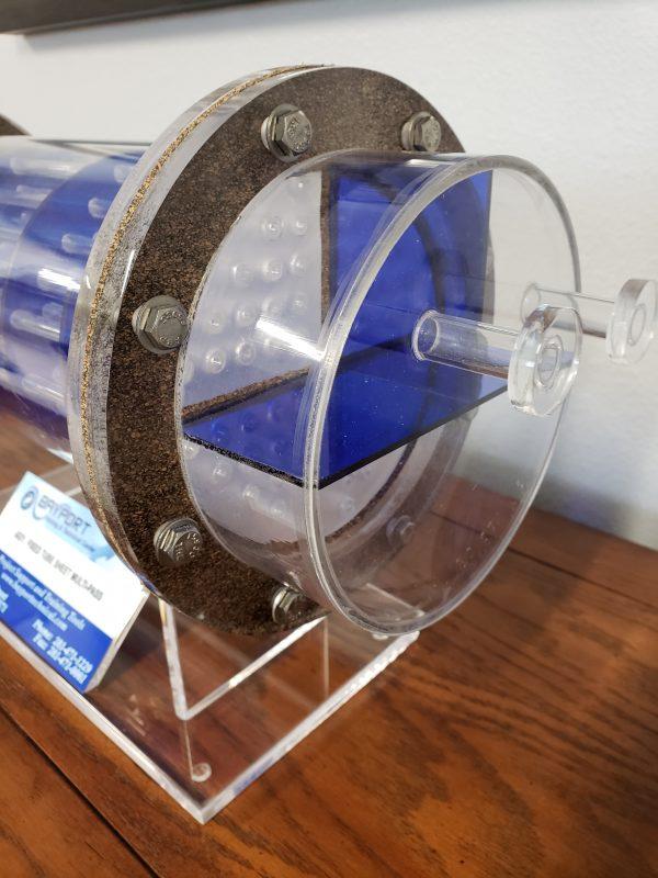 Bayport Technical | Fixed Tube Sheet Multi-Pass Model - Acrylic