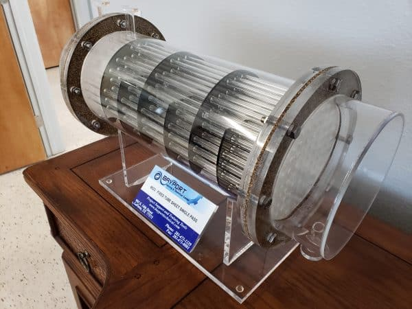 Bayport Technical | Fixed Tube Sheet Single Pass Model