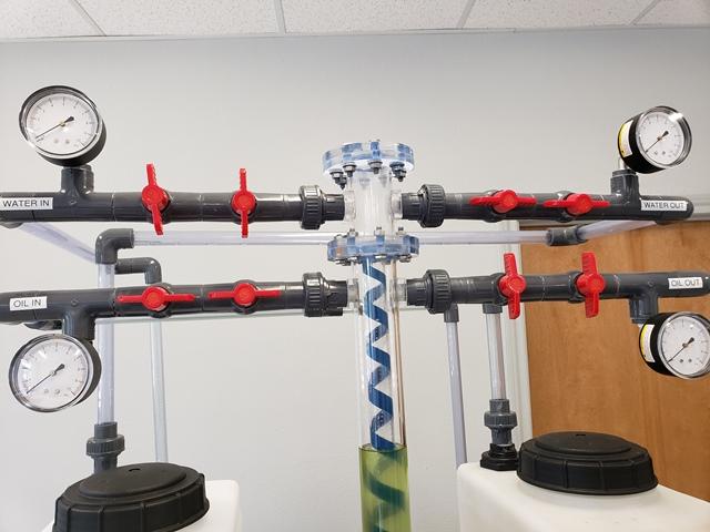 Bayport Technical - Acrylic Storage Well Working Demonstrator - 142-ASWD